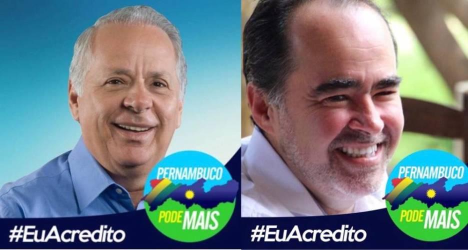 Com Júlio Lóssio e Nena Cabral, Pernambuco pode mais