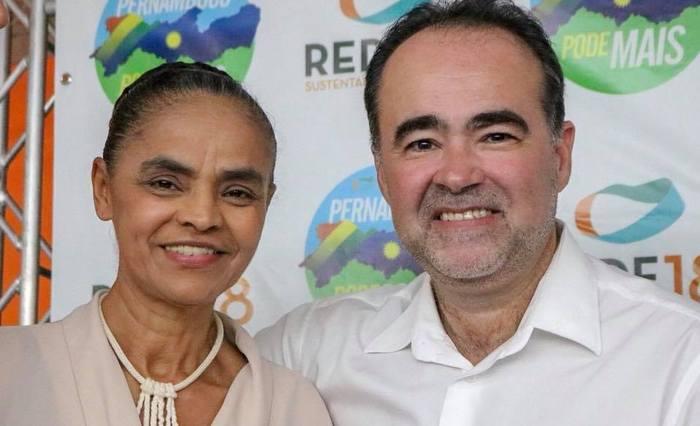 Marina Silva lidera em Pernambuco sem Lula na disputa