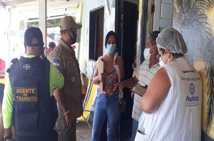 Paulista realiza Operação Orla Covid-19