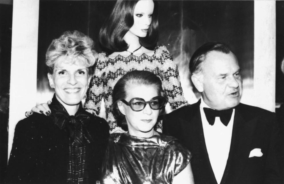 Nena, Pauline Trigere, Bill Blass
