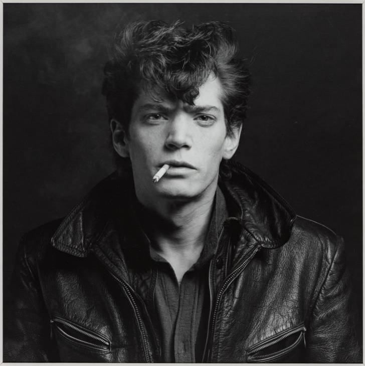 Self Portrait 1980 by Robert Mapplethorpe 1946-1989