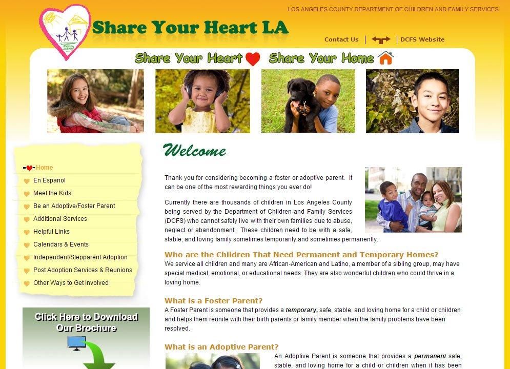 Share Your Heart LA Home