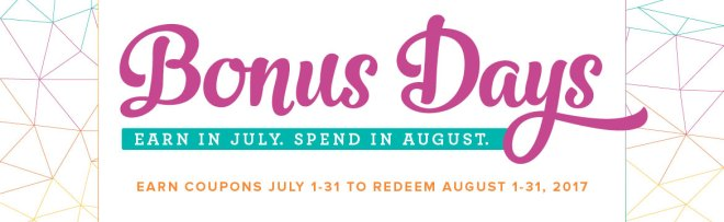 Spend $50 in July and earn a $5 Bonus to spend in August
