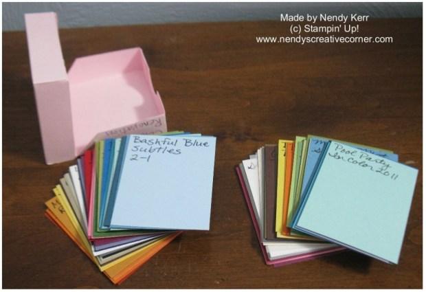 Card Stock Samplers