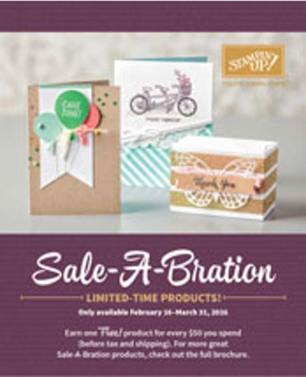 Sale-a-bration Flyer