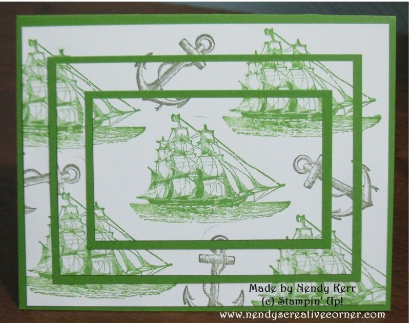 Open Sea Triple Time Stamping Card