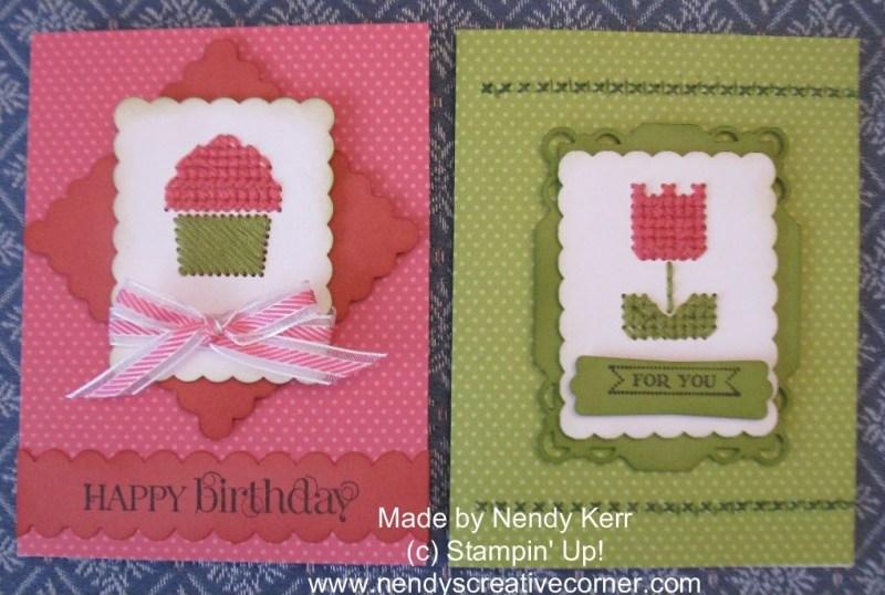 Sweet Threads Cross Stitch Cards