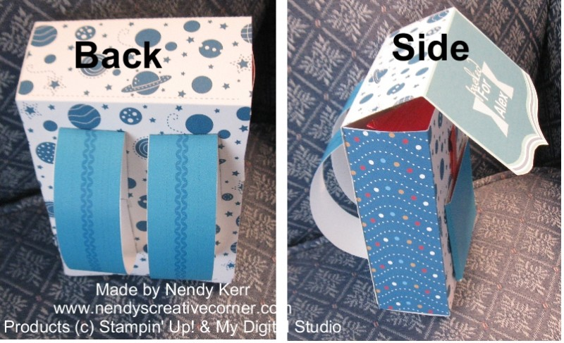 Backpack-Back and Side view