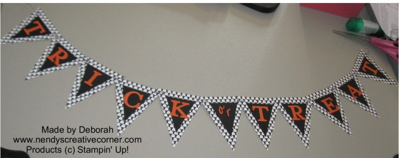 Deborah's Ghost Trick or Treat Banner