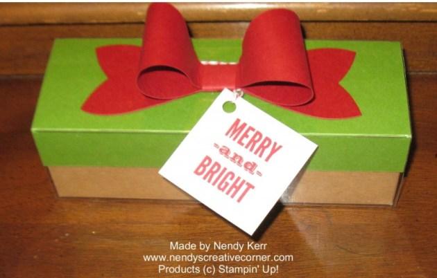 Christmas Tag a Box