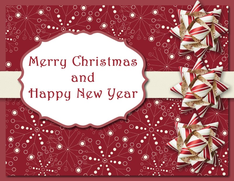 Merry Christmas MDS Card