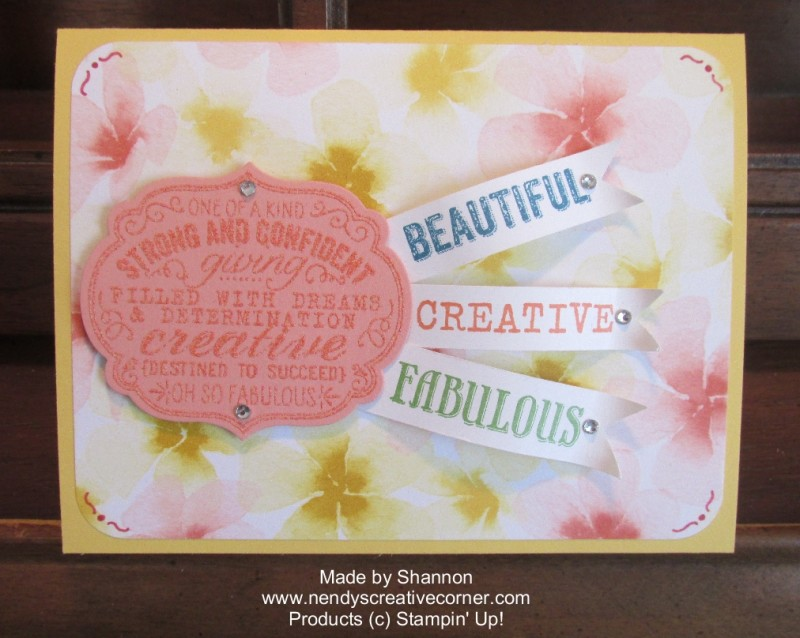 Banner Card by Shannon