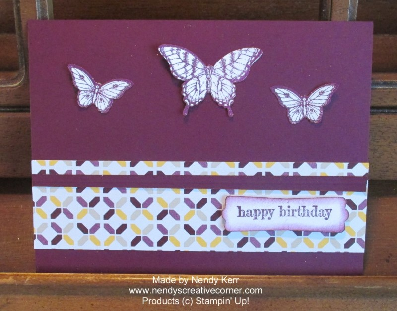 Blackberry Bliss Butterfly Swap