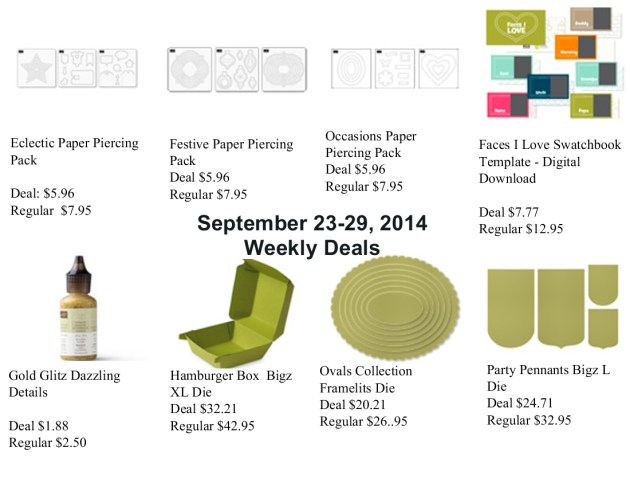 SU Weekly Deals Sept 23, 2014