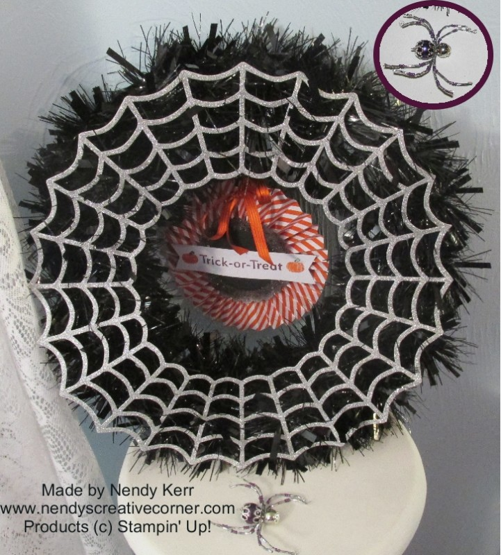 Frightful Halloween Wreath