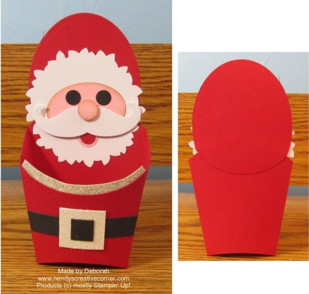 Santa Claus Fry Box