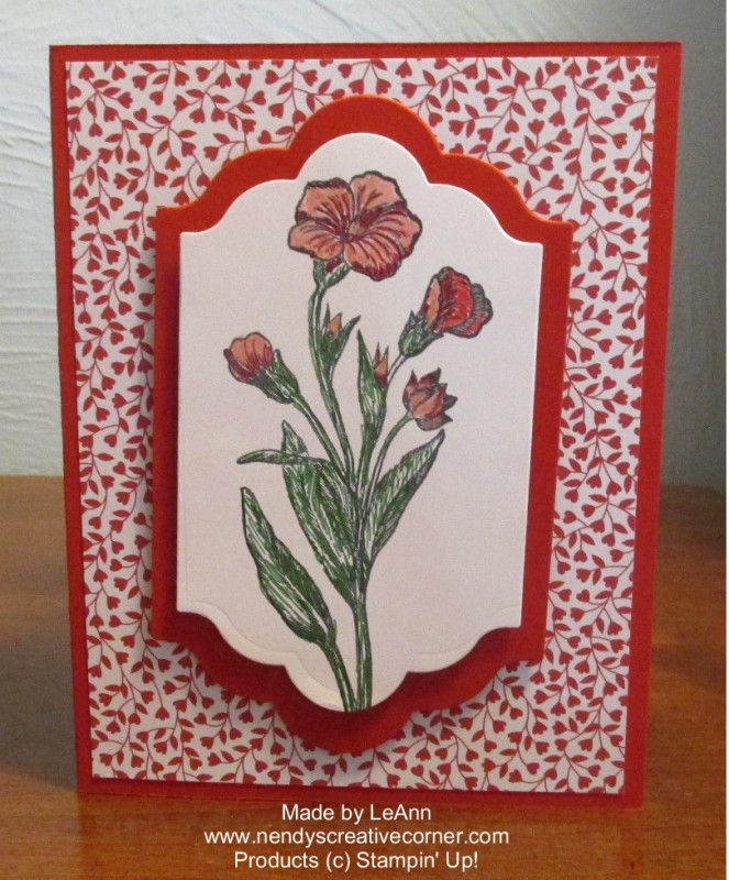Mom's Spring Flower Card