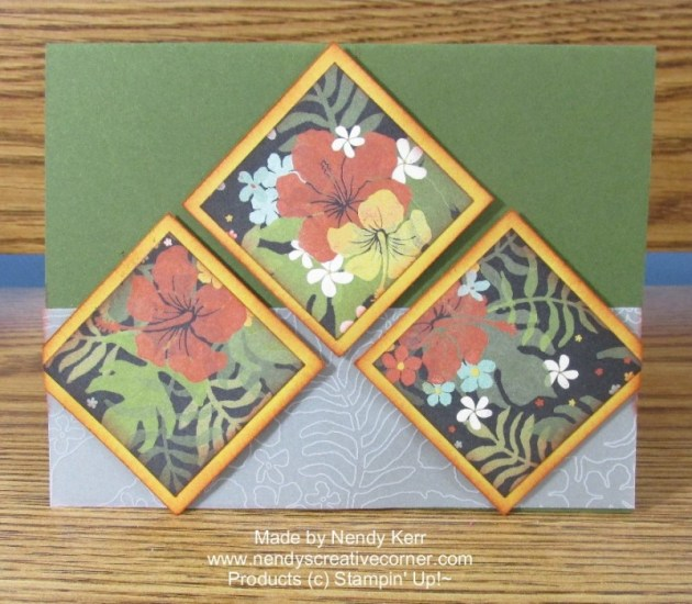 Botanical Blooms Card