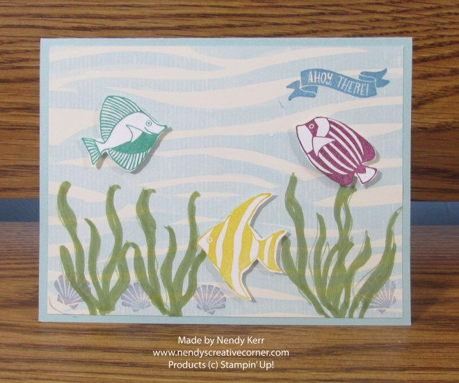 Fishes in the Sea Card