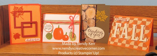 Oct Stamp Class cards
