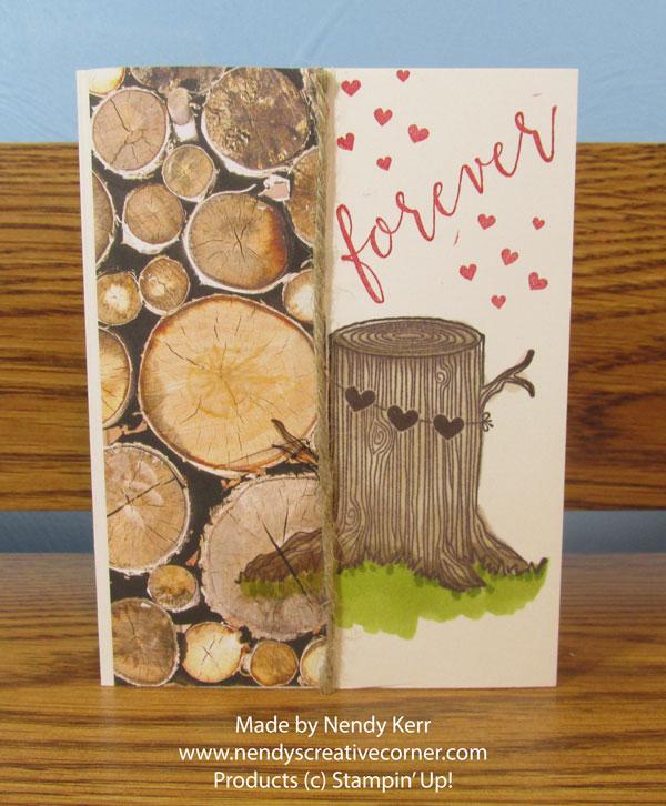 Always & Forever Men's Valentine card