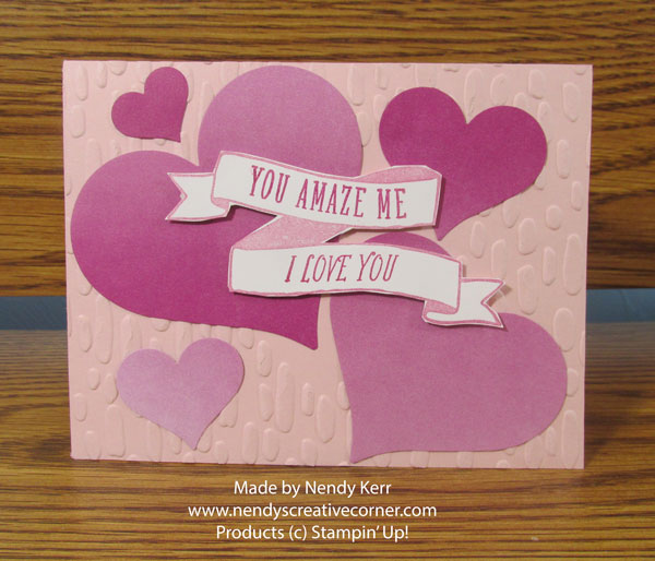 I Love You Valentine Card