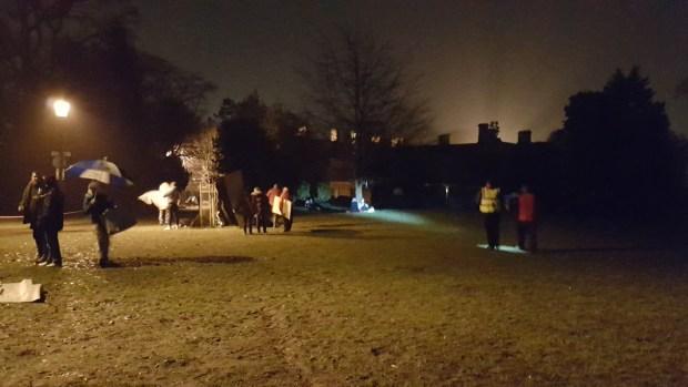 The Big Sleep Out in Abington Park
