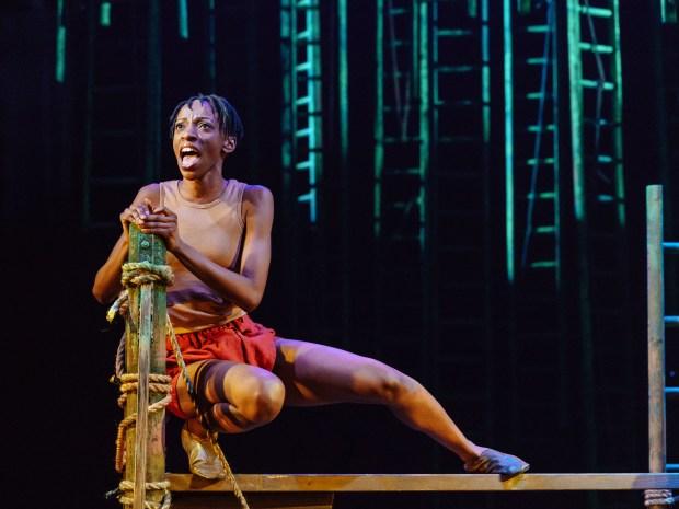 1 THE JUNGLE BOOK Kezia Joseph as Mowgli - photo by Manuel Harlan