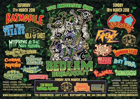 UK's biggest psychobilly festival celebrates 25 years in Northampton