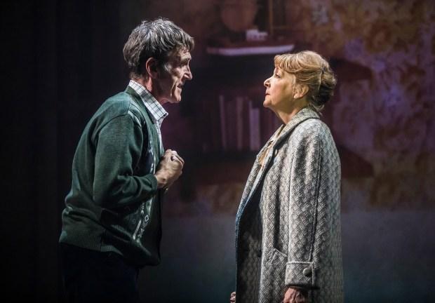Joe McGann as Jackie White +Charlie Hardwick as Peggy White_