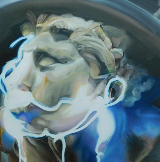 Valour and Cowardice, Oil on Canvas, 62 x 57 cm Jay Smith (2)