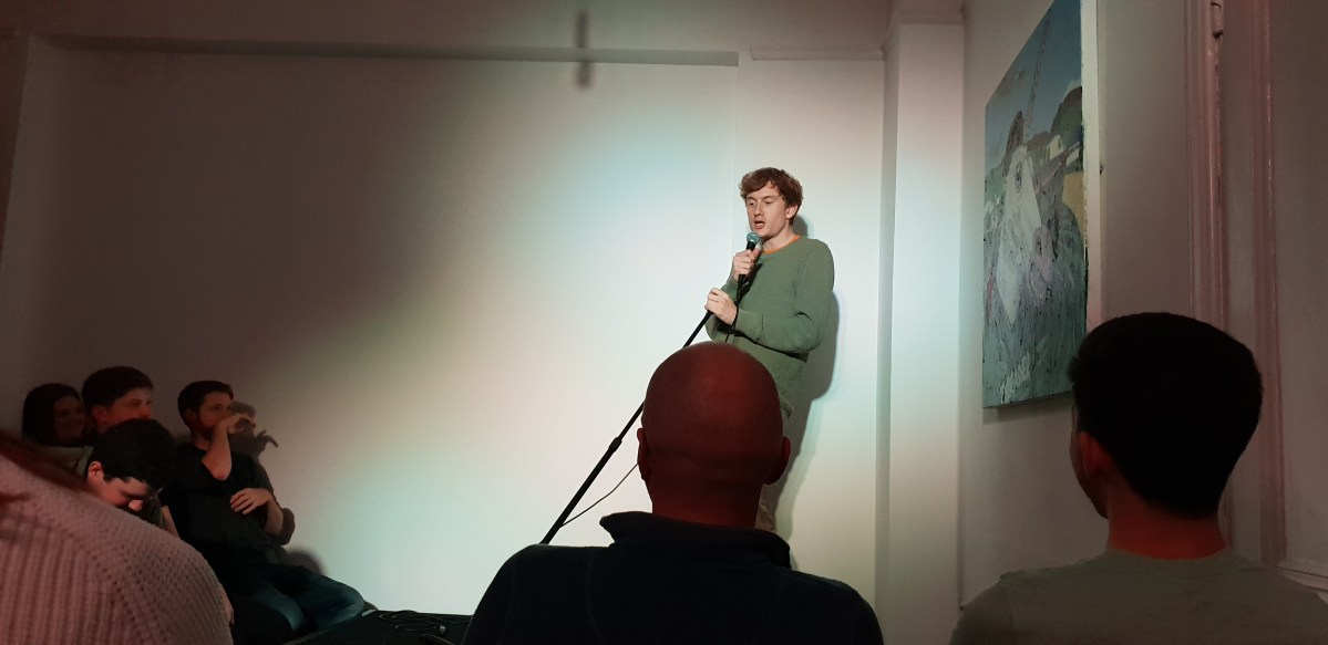 James Acaster is back in town