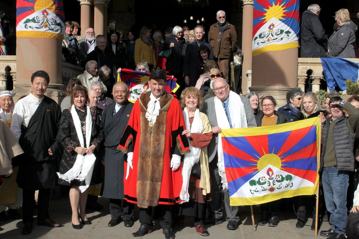 Northampton shines a light on Tibet