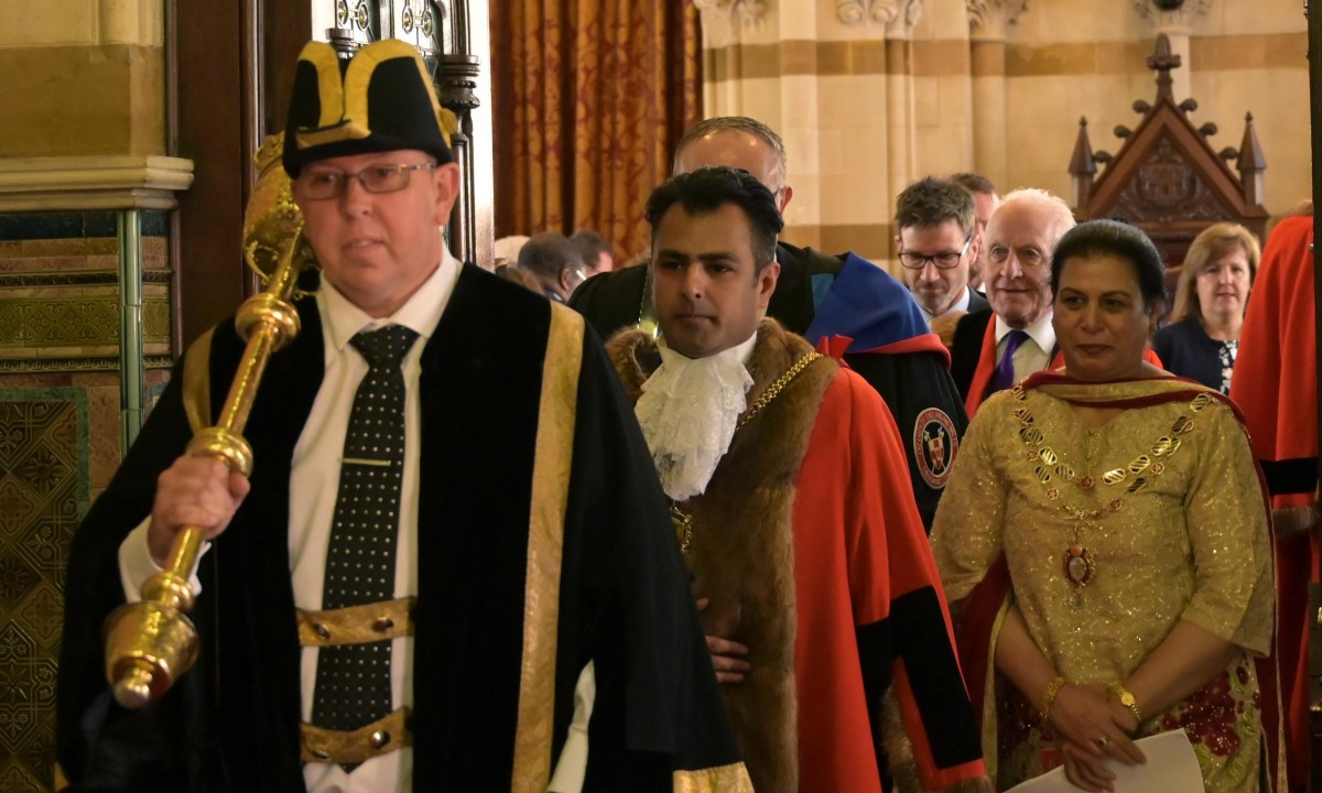 New First Citizen of Northampton takes office