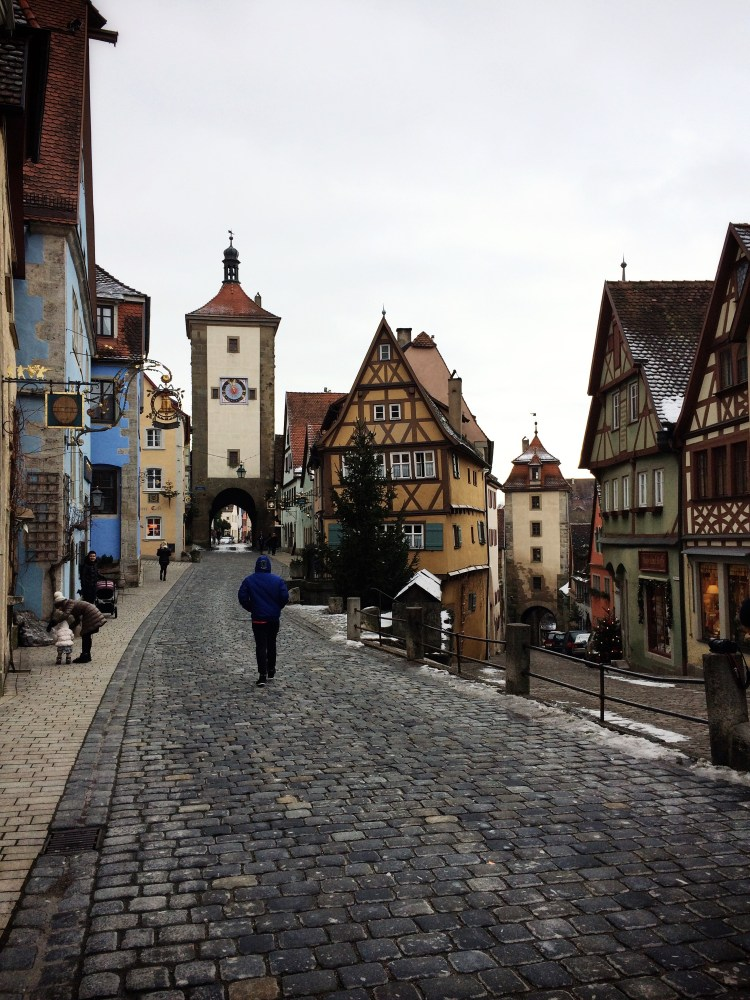 Rothenburg ob der Tauber, kota kecil nan cantik. (1/6)
