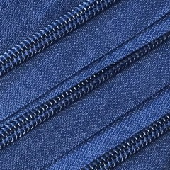 Spiraalrits - niet deelbaar (op rol) | 5mm | donker blauw