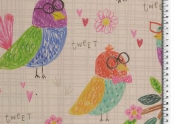 CANVAS | Digitale bedrukking - Birdie