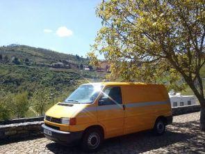 Alquiler furgoneta camper Madrid