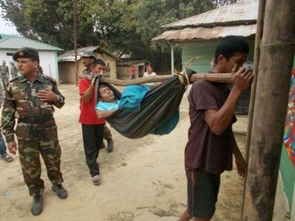 Assam Rifles organises free medical camp in remote Mizoram