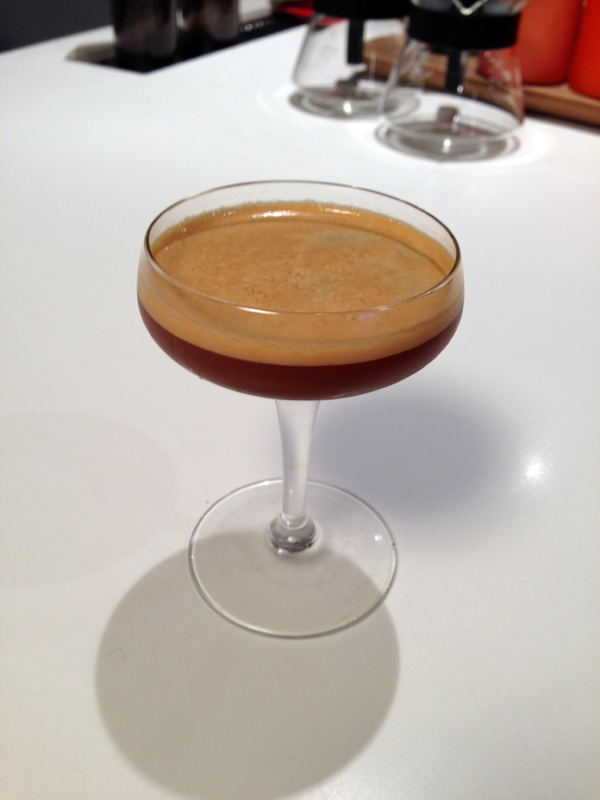 "The ""Second Wind,"" a riff of the classic daiquiri dropped into the realm of coffee."