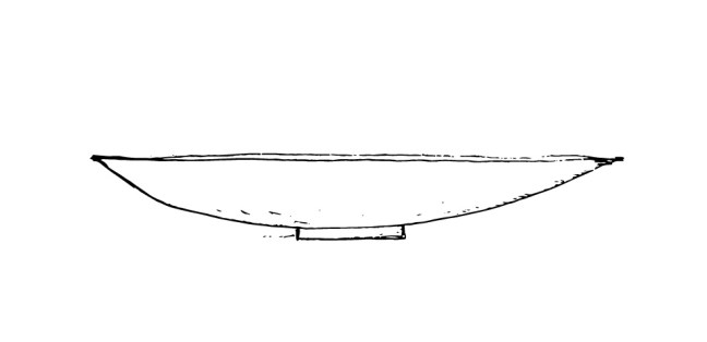 Forme plate
