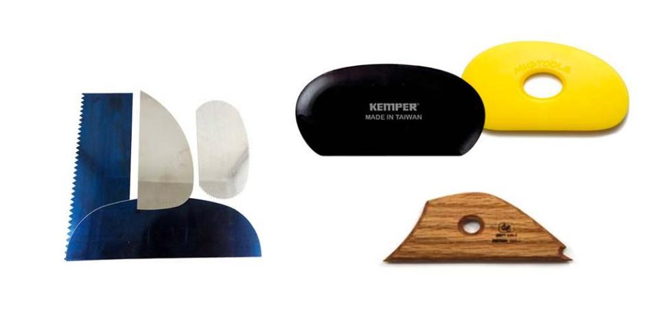 outils de poterie pour le modelage
