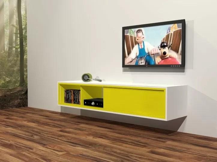 Diy Furniture Plan For Floating Design Tv Cabinet Arturo