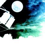 異世界的な雰囲気の街並みと満月(4パターン)