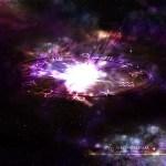 宇宙と十二宮シンボルマークのデスクトップ壁紙