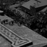 西洋風墓地の写真素材