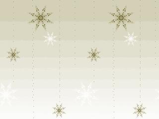 フォークロア調の雪の結晶(4パターン)