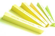 黄色と緑色のパステル