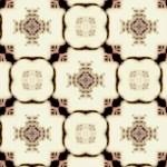 十字と格子の幾何学模様(4パターン)