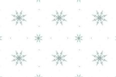 ノルディックテイストの雪の結晶(4パターン)